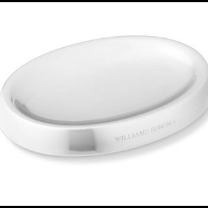 William Sonoma Stainless Steel Spoon Rest